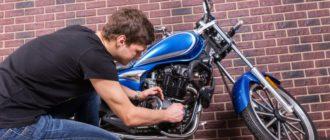 Как завести мотоцикл с севшим аккумулятором