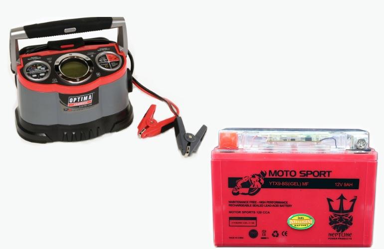 Зарядное устройство и гелевый аккумулятор
