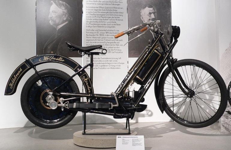 Мотоцикл Hildebrand & Wolfmuller