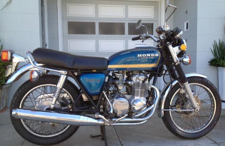 1976 Honda CB550F Super Sport