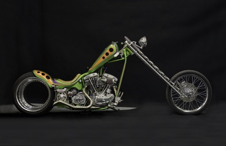 Harley Davidson без втулки заднего колеса